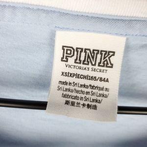PINK Victoria's Secret Tops - VS Pink long sleeve tie tee | Size XS